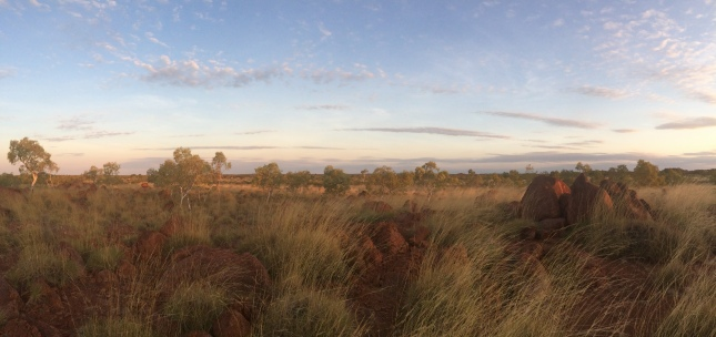 The Pebbles al tramonto