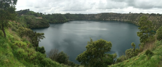 Blu Lake in Mount Gambier
