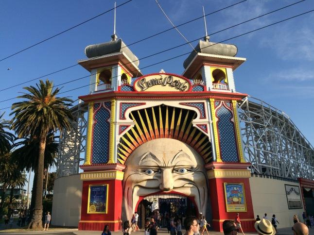 Luna Park di Melbourne